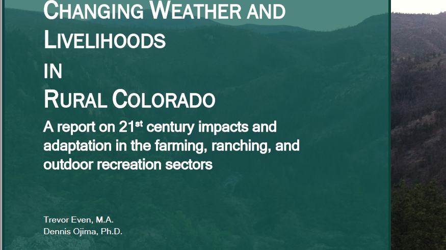 Changing Weather and Livelihoods in Rural Colorado