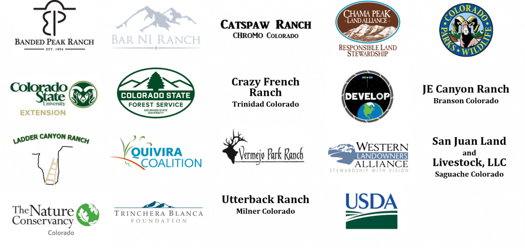 Western Ranch Management and Ecosystem Sustainability Partner Logos